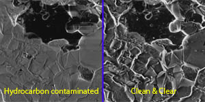 Plasma cleaner can improve SEM image resolution and contrast
